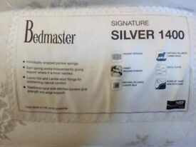 Bedmaster silver 1400 double mattress for sale