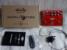 ATOMIC AMPLIFIRE with Box, UK psu, Manual