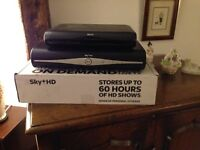 SKY HD+ Recorder and second room receiver.
