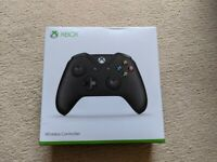 XBox One Controller Black + Wireless Dongle