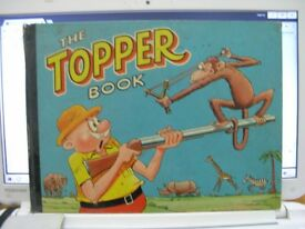 Vintage The Topper Annuals 1959 and 1960 Weymouth