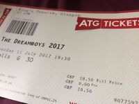 2 tickets for THE DREAMBOYS at the Kings Theatre
