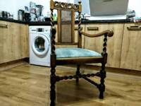 Antique Barley twist arm chair
