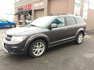 2015 DODGE JOURNEY R/T AWD - REAR AIR & HEAT, BACKUP SENSOR, LEA