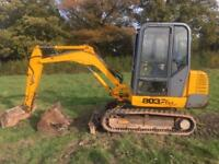 WANTED JCB 803 OR 802 DIGGERS EXCAVATORS TOP PRICES
