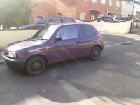 Nissan Micra 1.0 with 11moths MOT