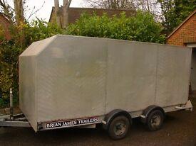 BRIAN JAMES minno - alloy covered trailer (car transporter)