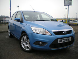 * 2009 FORD FOCUS STYLE TDCI 115 BLUE 5dr *** FULL SERVICE HISTORY ** 12 MONTHS MOT*