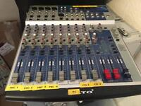 ALTO 18 Channel mixing desk with digital effects.
