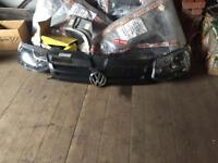 Vw transporter 2015 headlights and grill