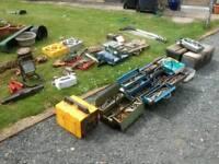 Job lot old mechanical tools