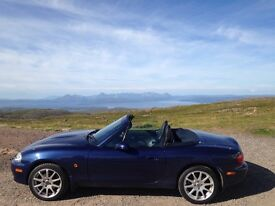 Mazda MX-5 S-VT Sport - Excellent condition, supreme blue, heated leathet seats.