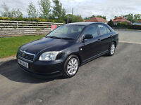 2005 05 TOYOTA AVENSIS 1.8 T3-S, 2 FORMER KEEPERS, 12 MONTHS MOT, PX WELCOME