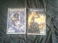 Nightcrawler & Robocop Comics