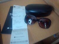 Brand new Ralph Lauren ladies sunglasses and case.