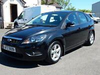 2009 ford focus 1.6 petrol zetec only 59000 miles, motd until june 2017 face lift model