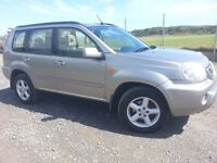 NISSAN X-Trail 2.2 DCi 4X4 SUV, Long MOT, Low Mileage & Well Maintained.