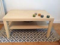 Coffee table LACK Birch effect IKEA