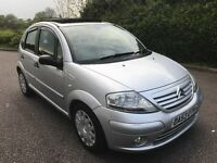 "2003 citroen c3 1.4 sx PAN SUNROOF AIR CON CLIMATE CONTROL "" TOP SPEC "" fiesta micra corsa 206"