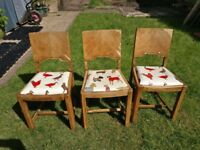 Vintage dining chairs 1930s - FREE