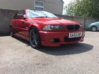 BMW E46 330ci Msport Manual. Imola red