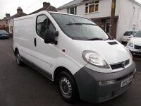 2003 Vauxhall Vivaro 1.9dti 2700 swb diesel panel van very clean inside and out NO VAT