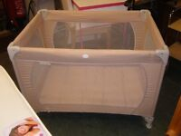 Red Kite Travel Cot. Immaculate Condition.