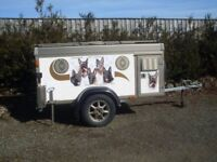 Dog Trailer. WT Metall 4 Dog Trailer. Air Conditioning. Spare wheel.