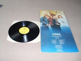 Collection of ABBA vinyl LP's
