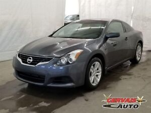 Nissan Altima Coupe 2.5 S 2013