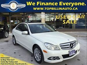 2012 Mercedes-Benz C-Class 4MATIC, NAVIGATION, FULLY LOADED