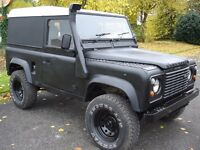 Land Rover Defender 90 Black 300TDI