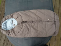 Baby footmuff (for stroller or pushchair) – Like New