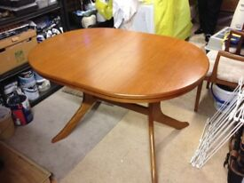 Teak dining table (in Bexhill)