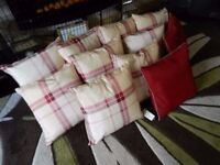 11 BRAND NEW SCATTER CUSHIONS