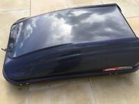 Car Roof Box and rails