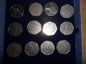 commerative 50p coins