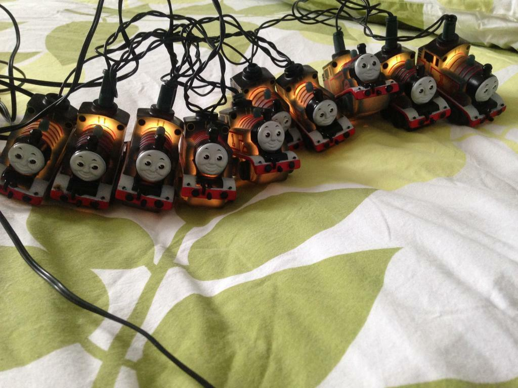 Thomas Christmas lights