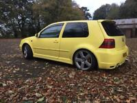 2002 VOLKSWAGEN GOLF GTI. # MOT FEB + TAXED # £750