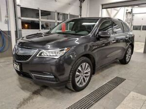 2016 Acura MDX Navigation/Heated Seats & Steering Wheel/AWD