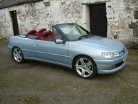 Peugeot 306 Cabrio Roadster(47000 miles) with hard top.