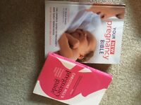 2x used pregnancy books for sale