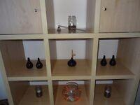 5 small black vase