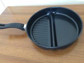 2 Segment Frying Pan