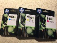 HP Ink Cartdridge (3 pack)