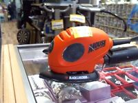 Black and decker sander/polisher with pads comes with 6 months warranty