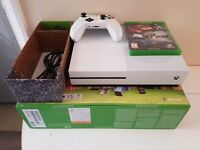 Xbox one s complete with box