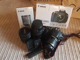 Canon EOS 600D Bundle