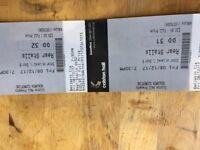 2x Benjamin Clementine tickets Colston hall Bristol