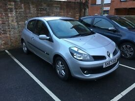 2007 (57) SILVER RENAULT CLIO 1.4 16v DYNAMIQUE 3dr - GREAT FIRST CAR - QUICK SALE